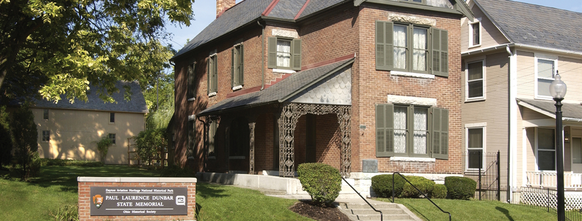 Paul laurence dunbar house historic site dayton history for House pictures website