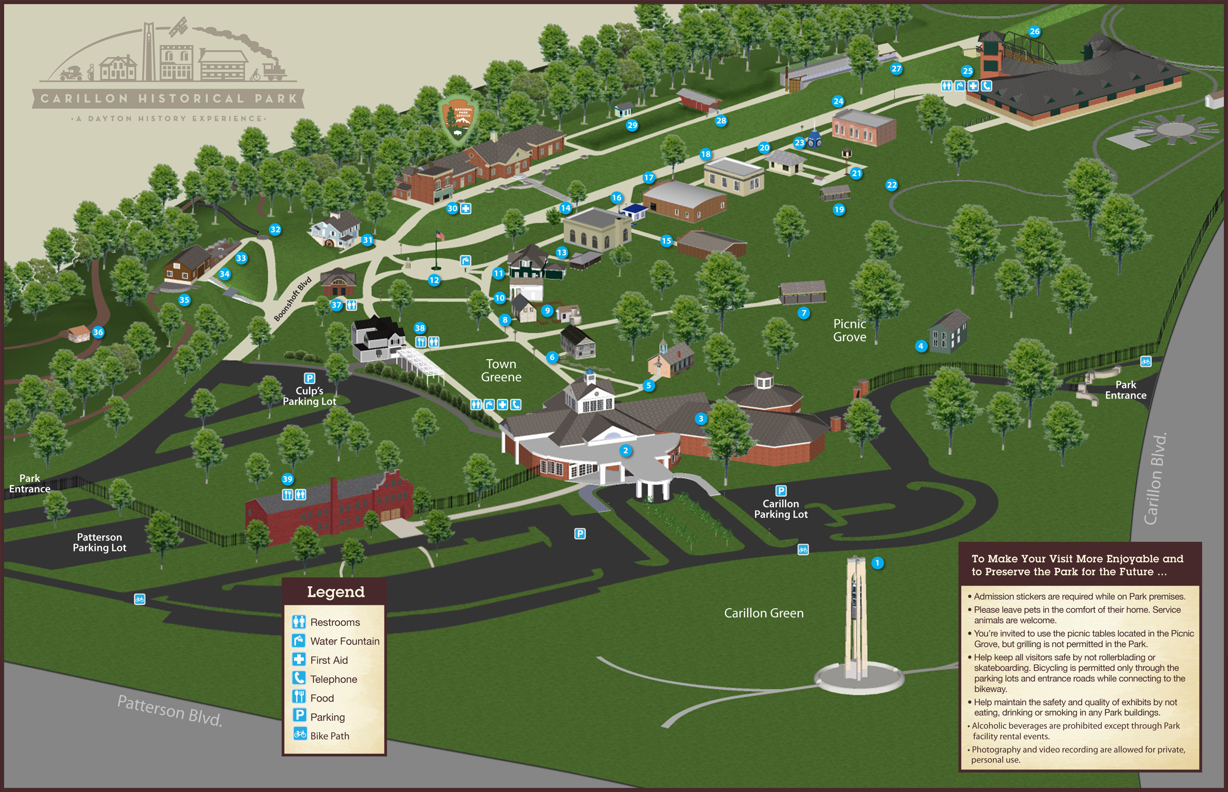 Park Map - Dayton History