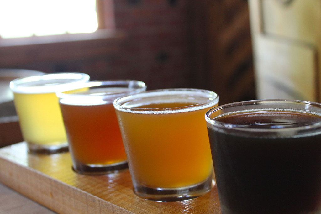 Carillon_Brewing_Co_flight