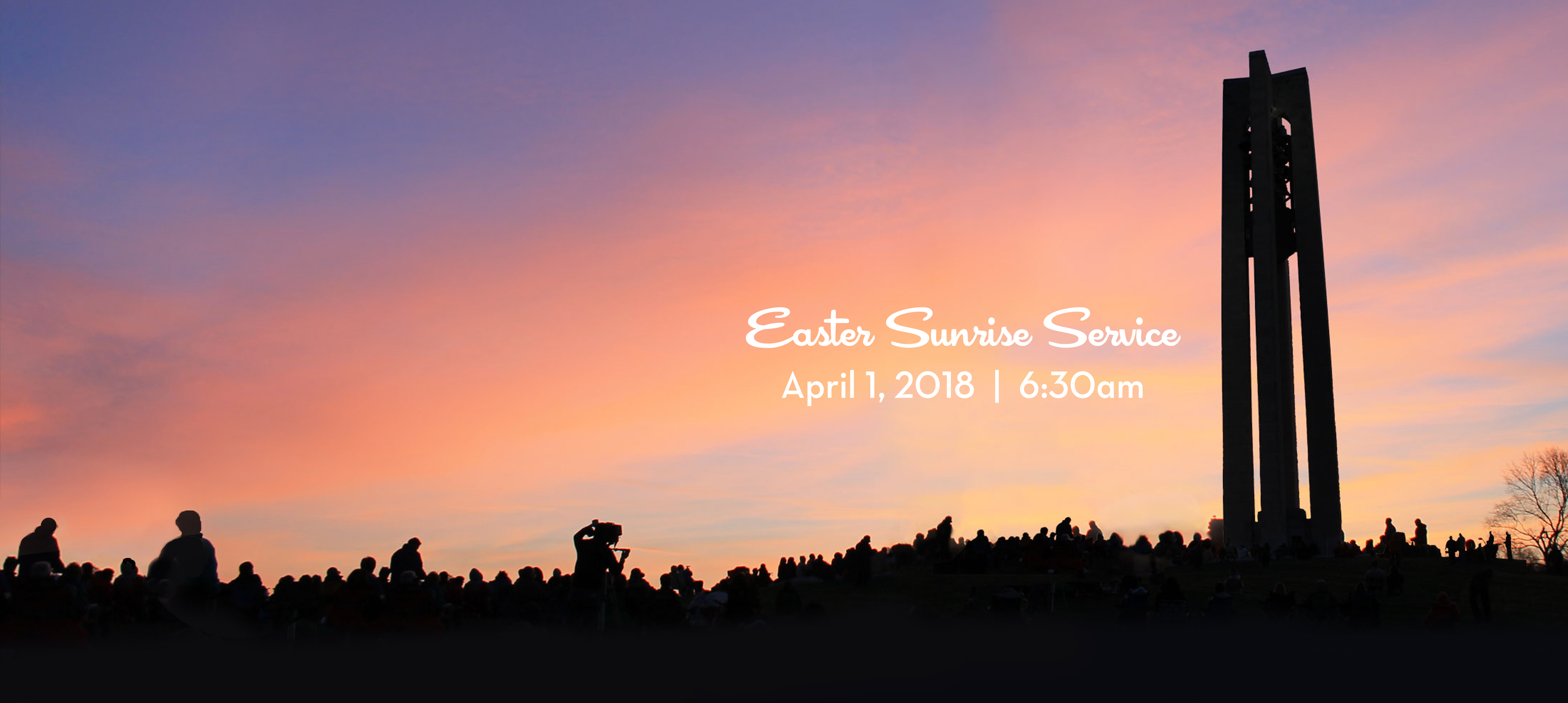 Join us for our Easter Sunrise Service!