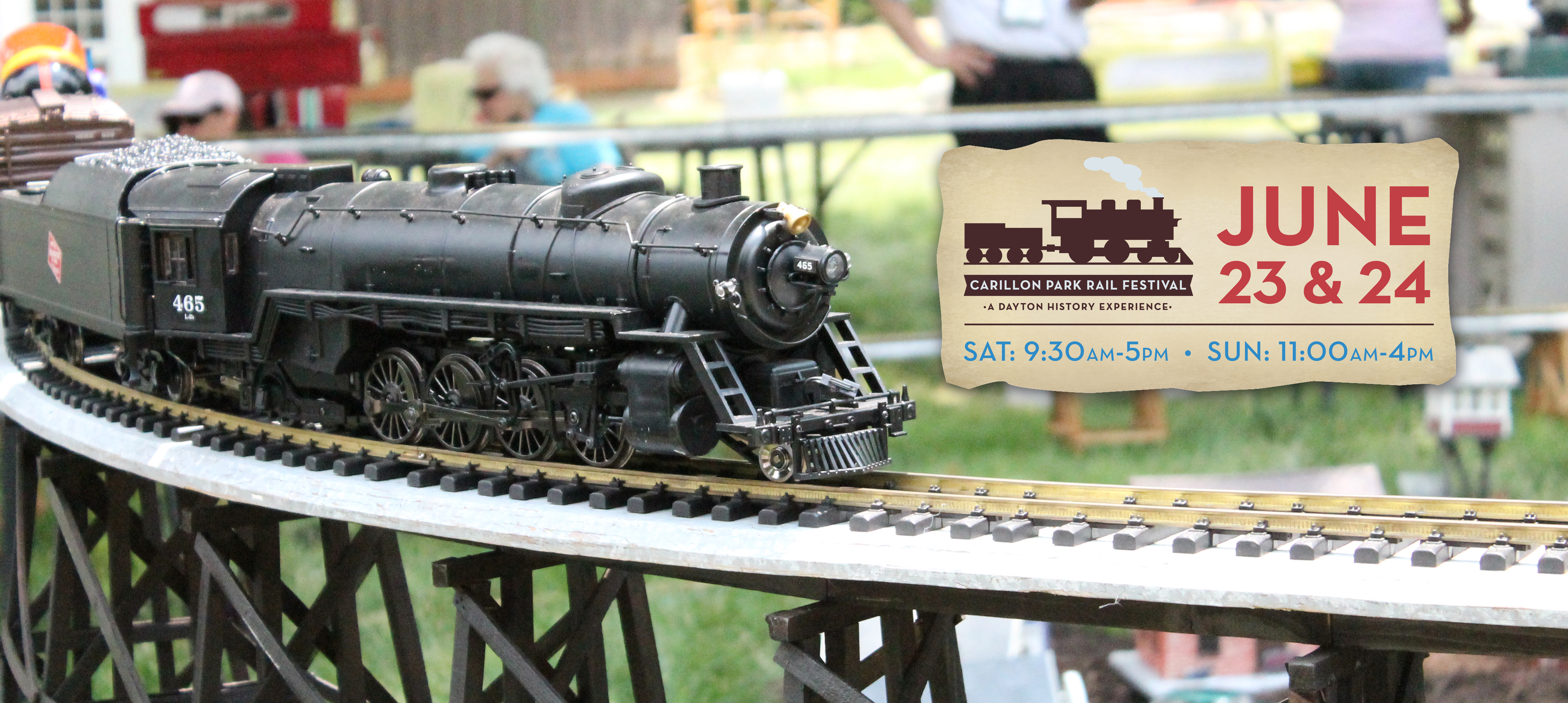 All Aboard for the 13th annual Rail Festival!