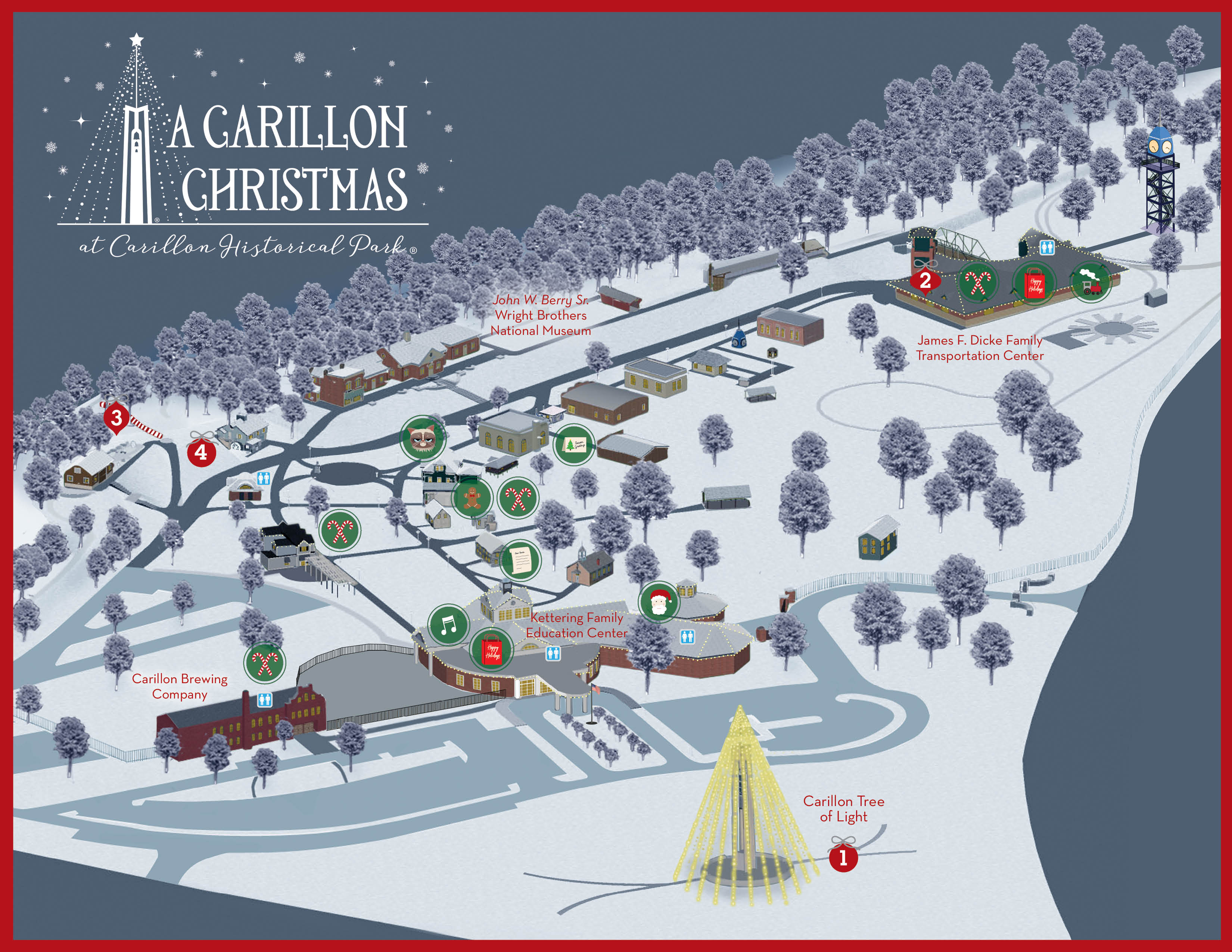 A Carillon Christmas Dayton History