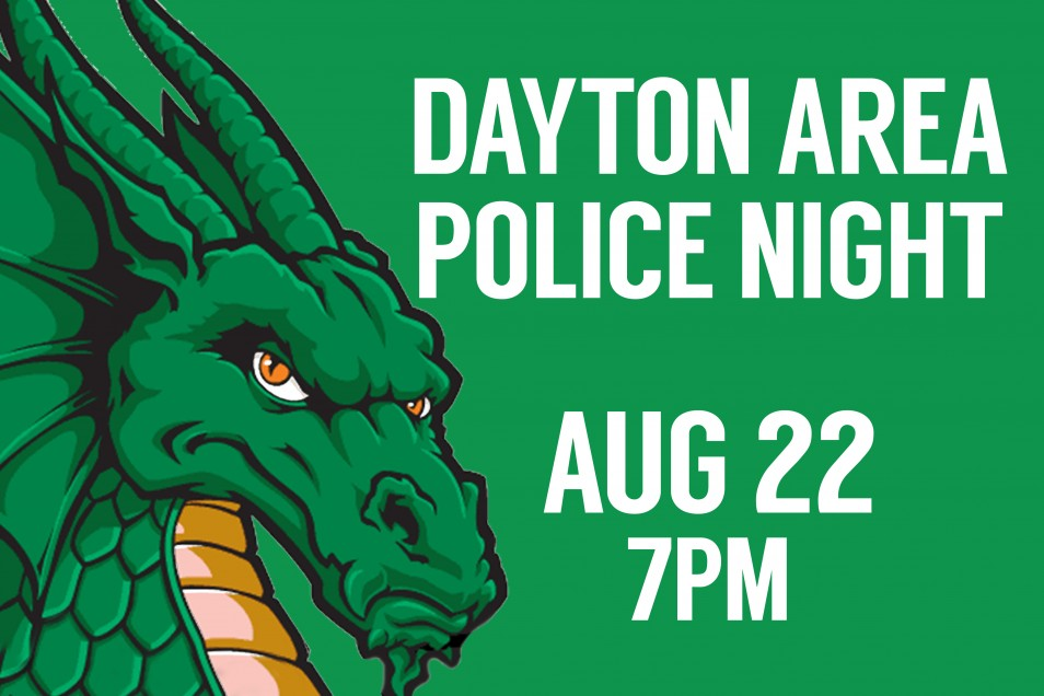 Dayton Area Police Night at the Dragons!