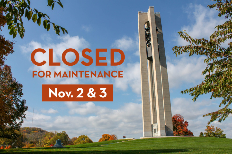 CLOSED for Maintenance! November 2nd & 3rd